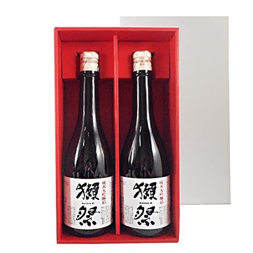 獺祭 純米大吟醸 磨き45 720ml 2本 獺祭専用紅白ギフトボックス 山口県 旭酒造 日本酒