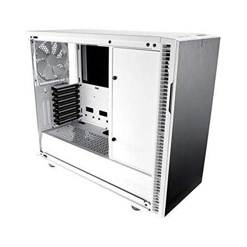 Fractal Design Define R6 USB-C Escritorio Blanco - Caja de ordenador (Escritorio, PC, Aluminio, Acero, Blanco, ATX,EATX… 3