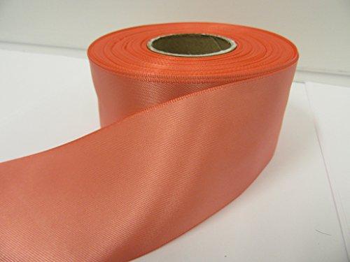 3 mètres superbe orange recto ruban de satin sash 100mm x 3m