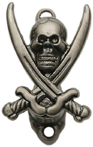 Szco Supplies 2' Adjustable Cast Metal Pirate Style Sword Hanger