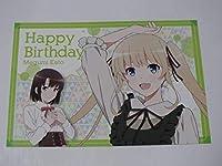澤村スペンサー英梨々 バースデーポストカード 冴えない誕生日の過ごしかた 冴えない彼女の育てかた 冴えカノ ホビーグッズ