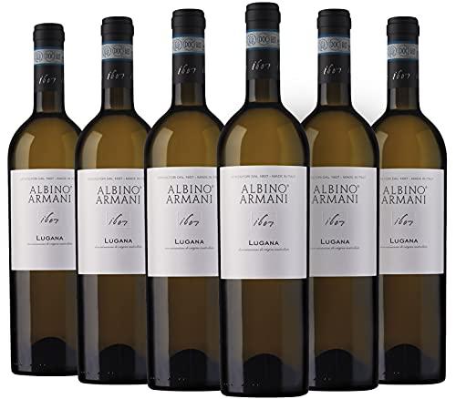 ALBINO ARMANI - Lugana - Lugana DOC 13,5% vol, Confezione 6 Bottiglie x 750 ml, Vino Lugana DOC dal Lago di Garda - ALBINO ARMANI Viticoltori dal 1607