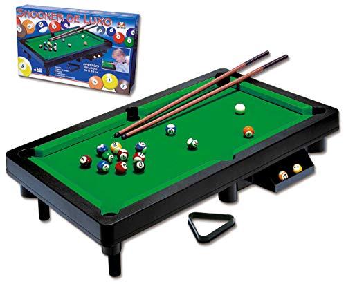 Snooker de Luxo Braskit Preto