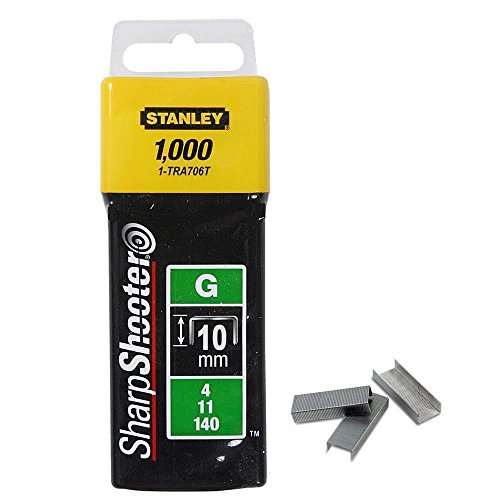 Stanley Tackerklammern Typ G 11 - 10mm 1000 Stück