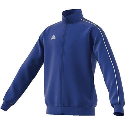 adidas CORE18 PES JKTY, Blau(Blau (Bold Blue/White)), 128