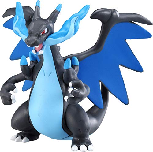 Takara Tomy Pokemon Monster Collection Moncolle EXESP_08 Mega Charizard X Mega Dracaufeu X Mega Glurak X