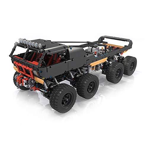 TMIL RC Fox 8 X 8 X 8 Escalada Carro del Camino Ladrillos De Construcción Kit, Moc Building Blocks Compatible con Lego (1868 + PCS), Ladrillos De Juguete De Regalo De Los Niños,Withmotor