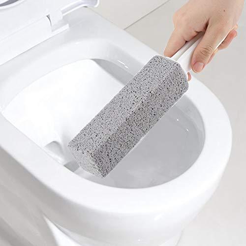 Escobilla De Baño WC Toca Taza De Inodoro Pista De Piedra Pómez De Piedra Limpiador De Cepillo Varita De Limpieza para Baño Higiénico