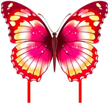 Cometa para Adultos Rosa Cometa Mariposa para ni/ños Cometa Infantil Pandiui23 Cometa Mariposa