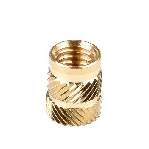 in-saiL All items in the store New Free Shipping M3x5.7mm OD4.6mm QT Threaded Brass Insert Staking Heat