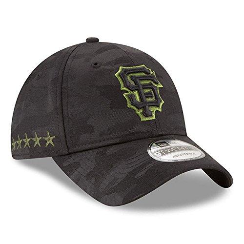 New Era San Francisco Giants Memorial Day Camo 9TWENTY Adjustable Hat/Cap