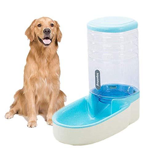 Bvnivcxzem Pet Feeder Automatic Pet Feeder Pet Animals Feeder Food &Water Feeder Set Small&Medium Pets Food Feeder Pet Dry Food Dispenser Blue,Food Feeder
