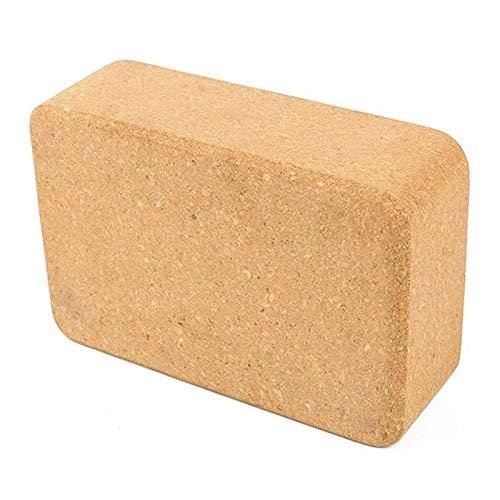 Sjzwt Cork Yoga-Block Brick natürliche umweltfreundliche ungiftige Beste Yoga Props Yoga Hilfs Fitness Werkzeuge
