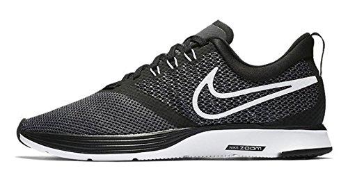 Nike Damen Zoom Strike Laufschuhe, Schwarz (Black/White/Dark Grey/Anthracite 001), 38 EU