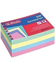 Herlitz Systeemkaart A4/A5/A6/A7/A8, 100 stuks