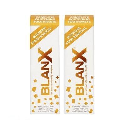 2 x Blanx Intensive Flecken Entferner Zahnpasta