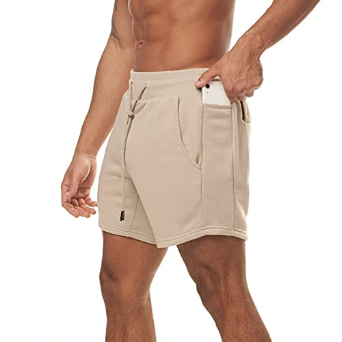 DeaAmyGline Sport Shorts Herren Kurze Hose Fitness Training Casual mit Tasche Sommer Shorts Männer Sweatshorts Jogginghose Laufshorts Sportshorts Wandershorts Arbeitsshorts