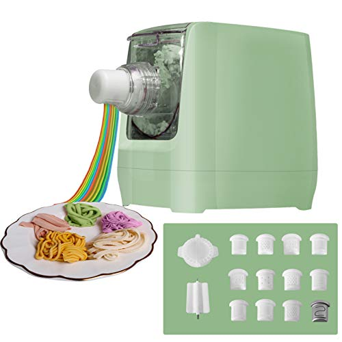 Electric Pasta Makers, Home Automatic Noodle Extruder Machine, 12...