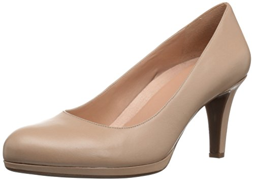 Naturalizer Women's Michelle Dress Pump, Taupe Leather, 8