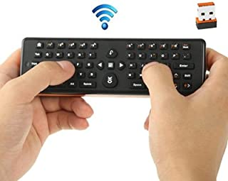 Hshaojin EA-02 2 in 1 2.4GHz Wireless Air Mouse + Keyboard for PC/TV/Media Player/Android TV BOX, Size: 161 x 51 x 20mm Hshaojin