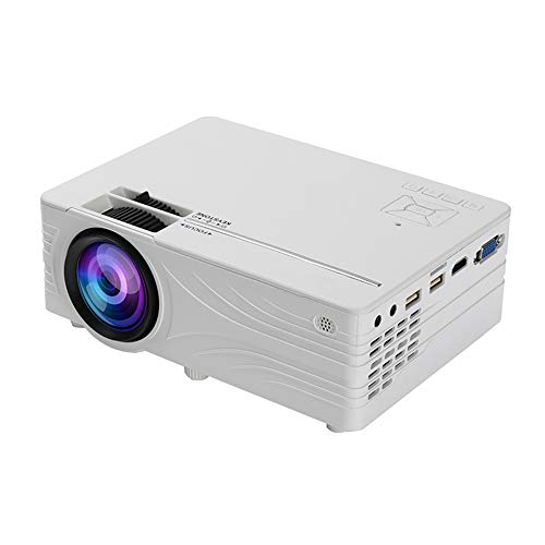 Docooler LED Video Mini Projector HD 1280 x 720P Portable Android WiFi Projector Supports Full HD 1080P VGA USB AV TF Card Audio Home Theater Cinema Media Video Player, Same Screen Model/Basic Model