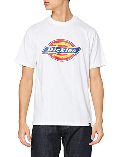 Dickies - T-shirt - Empire - Manches courtes - Homme - Blanc (White) - Small (Taille fabricant: Small)