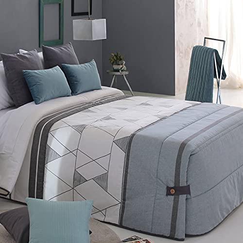 Reig Marti Edredón conforter ZENDA 02 - Cama 150 Cm - Color Verde C04