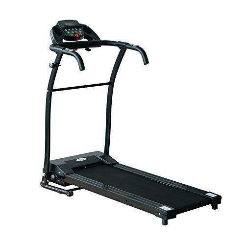 HOMCOM 1-10Km/h Folding Treadmill Machine Electric...