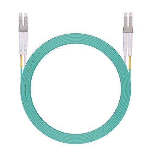 LC zu LC LWL Glasfaser Patchkabel 5m, OM3 Duplex Glasfaser Patchkabel, 50/125um, LSZH für SFP und SFP+ Transceiver