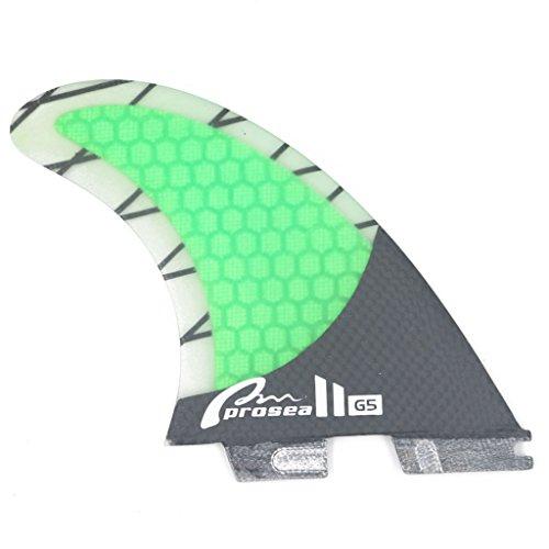 Prosea-Surfboard Fin FCS II Base G5 Size Carbon Surfing Thruster