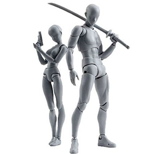 Yefun Body-Chan Model, Body Kun Doll PVC Body-Chan DX Acción Jugar Art Figure Modelo Dibujo para SHF