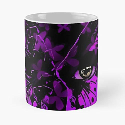 Mesmer Guildwars Guild 2 Gw2 Butterfly Wars Gw Taza de café con Leche 11 oz
