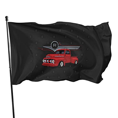 N / Ford F-1 Flagge, 7,6 x 12,7 cm
