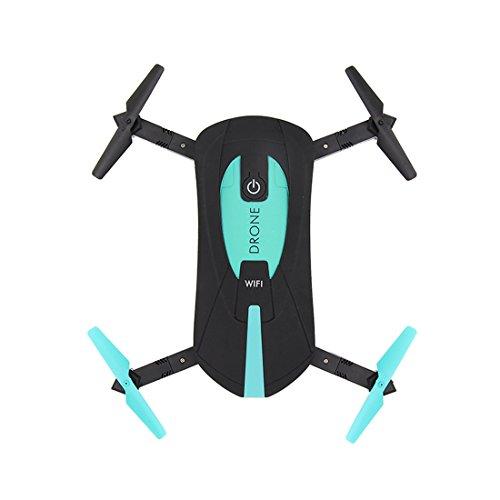 GEHOO GH JY018 Elfie WiFi FPV Quadcopter Mini Drones Drone RC Selfie Pliable avec 2MP Caméra HD VS H37 720 P RC Hélicoptère (Green)