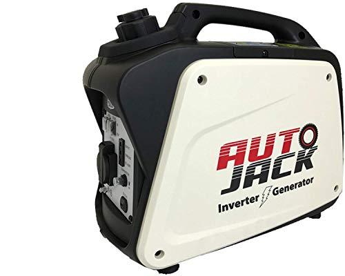 Autojack IG950 800W 2.6HP 4 Stroke Petrol Inverter Generator 240V, White