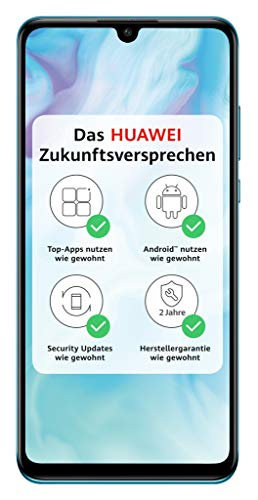 HUAWEI P30 lite Dual-SIM Smartphone Bundle (6,15 Zoll, 128 GB ROM, 4 GB RAM, Android 9.0) breathing crystal+ Micro SD 16GB Speicherkarte [Exklusiv bei Amazon] - DE Version