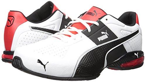 PUMA Men's Cell Surin 2 Fm Cross-Trainer Shoe, Puma White/Puma Black, 10.5 M US