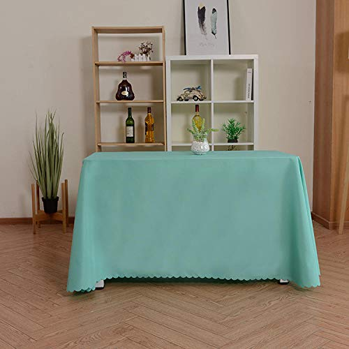 Yinaa Quadrat Tischdecke Alltägliche Küchentischdecke Einfache Volltonfarbe für Den Innenbereich Dekorative...