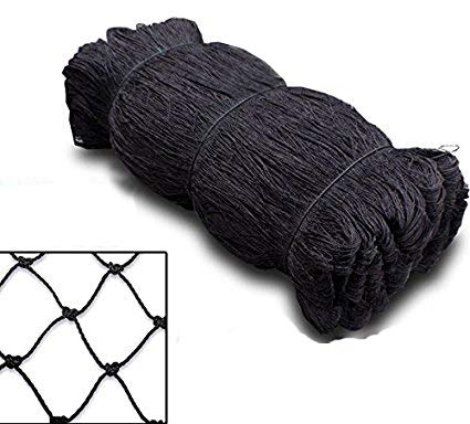 Mcage Strong 50ft X 100ft Net Netting for Bird Poultry Aviary Game Pens New 2' Square Mesh Size