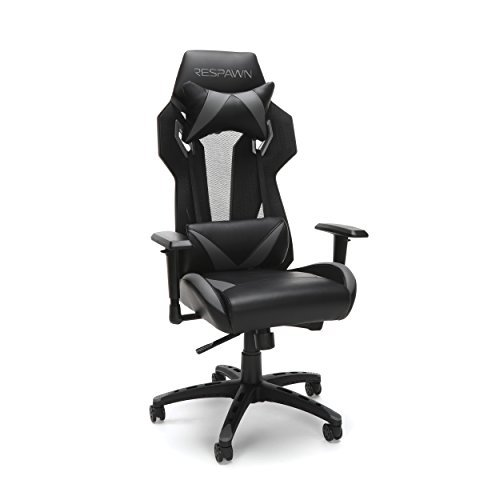 RESPAWN 205 Racing Style Gaming Chair, in Gray (RSP-205-GRY)