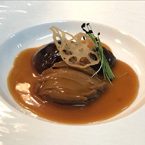 「冷凍食品」鮑(あわび)と椎茸(しいたけ)のブラウンソース煮込み 鮑2粒 椎茸2粒入