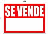 Oedim Cartel Se Vende 50x70cm | Material Flexible | Fabricado en Glasspack