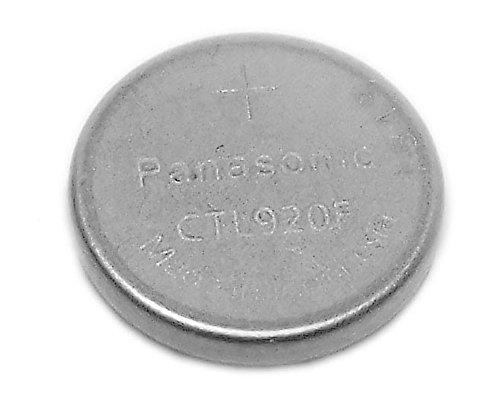Panasonic 10304339 - Batteria a bottone CTL 920F, al litio, adatta per orologi solari Casio