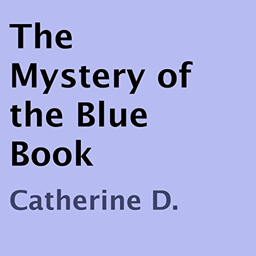 The Mystery of the Blue Book audiobook cover art
