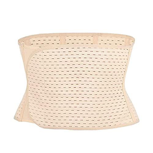 BBNB Correa para el abdomen posparto para el vientre, cinturón para tonificar la espalda, cinturón de apoyo para la cintura y el abdomen para mujeres embarazadas (color: color de piel)