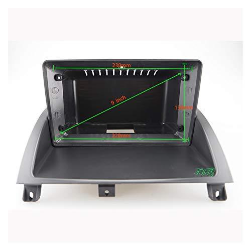 Reunion Marco de Audio del Coche GPS Navegación de la navegación Fascia Panel DVD Frame de plástico Fascia es Adecuado para 2010-2016 Rover MG3