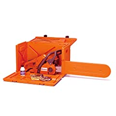 Powerbox carrying case.HDPE (High Density Polyethylene) double wall construction Fits all Husqvarna chain saws up to and including the 372xp and 575xp; stackable Holds Husqvarnas exclusive filing equipment, filing vise, scrench, spark plug, 2 -cycle ...
