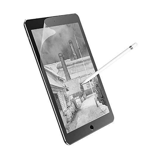 Junfire wie Papier Displayschutz für iPad 5th/6th generation,& iPad pro 9.7, iPad air 2 Matte Paperfeel Papier-Textur Bildschirmschutzfolie wie Papier Schreiben, Malen Zeichnen(EIN Stück)