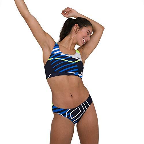 Speedo Placement U-Back Completo Bikini 2 Pezzi da Donna