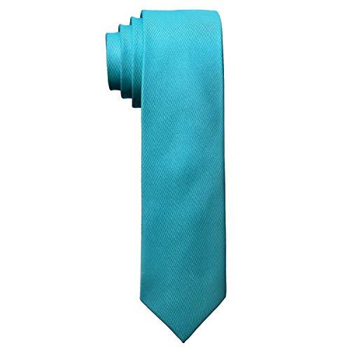 MASADA Corbata para Hombre elaborada a mano y con gran esmero 6 cm de ancho - Azul celeste